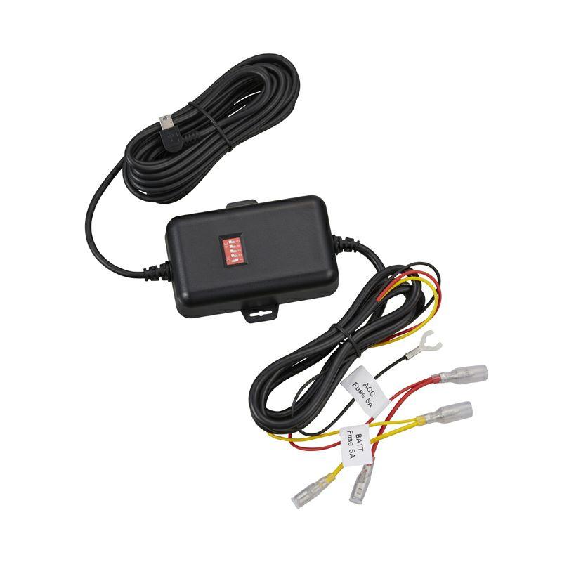 写真:ドライブレコーダー用車載電源ケーブル CA-DR550